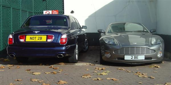 bentley and aston martin