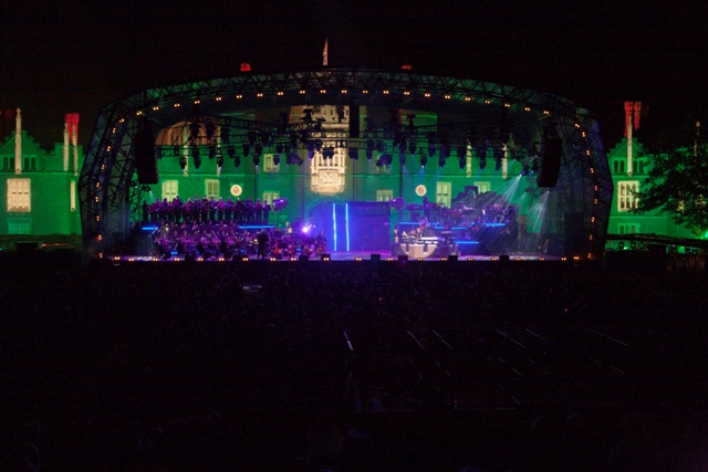rick wakeman concert at Hampton Court 1