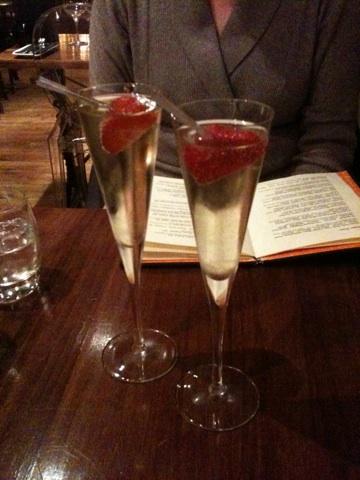 Sparkling aperitif