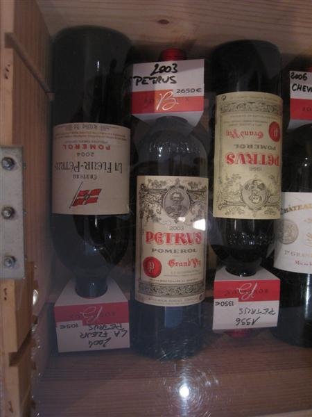 Lacanau,, France - Chateau Petrus - a bargain at € 2650!