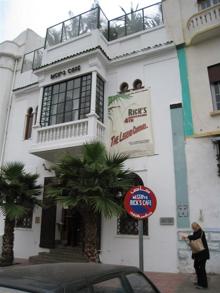 casablanca: rick's cafe outside