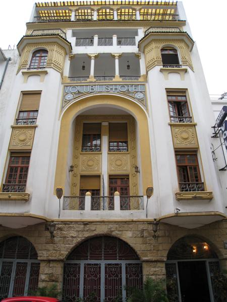casablanca: art deco volubis hotel