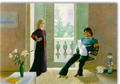 David Hockney, Mr And Mrs Clark And Percy 1970