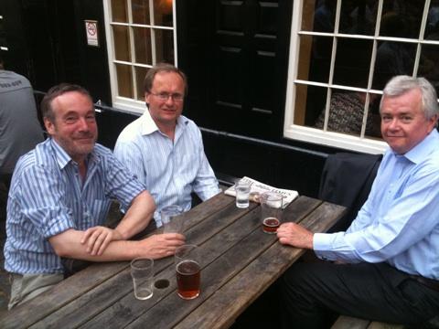 Anthony Bodle, John Patient, Valter Johansson