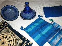 Cushion covers and a Tagine