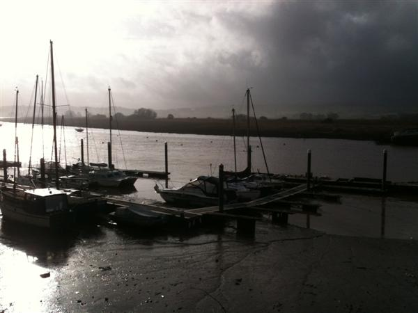 Boats on the River Exe