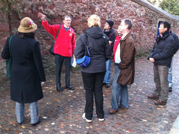 Walking tour of Exeter - Catherdral to Quay