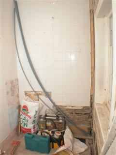 bathroom after one day