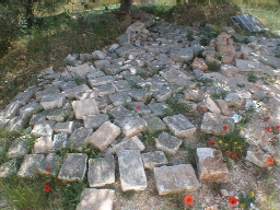 flagstones for courtyard
