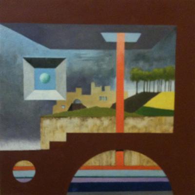michael mclellan painting 1 0f 6: Italian Scene