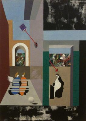 michael mclellan painting 2 0f 6: Annunciation