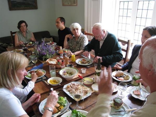 Lunch in Hannington Hall