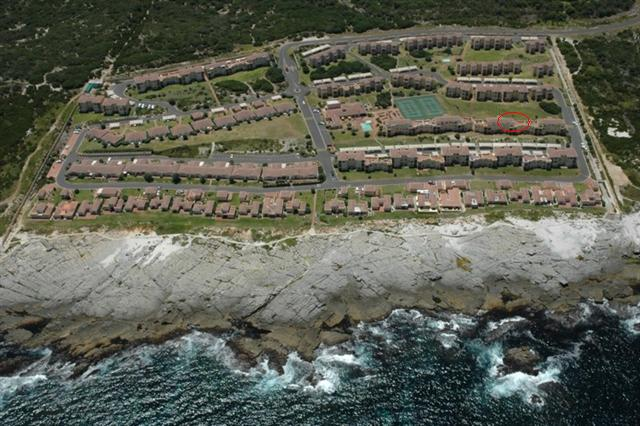 Hermanus Beach Club Aerial View