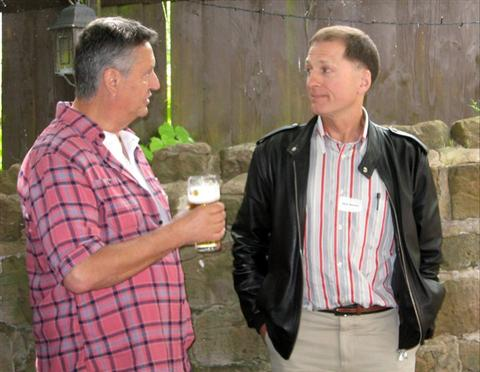 KGS Reunion 2011 - Mark Webster  and Mark McLellan