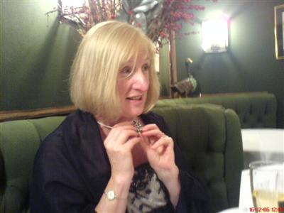 Mary at Le Gavroche