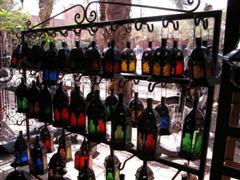 Marrakech lantern Stall
