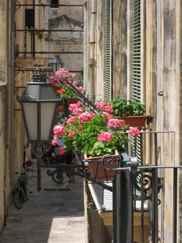 Puglia May 2011 - Lecce Street