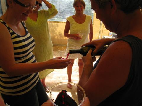 Puglia May 2011 - Mino's wine