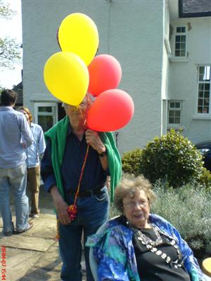 Mum, Dad and Balloons