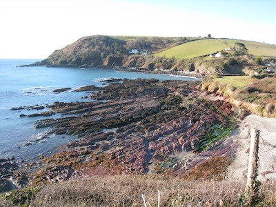 Christmas 2010 - Southwest Coastal Path 2