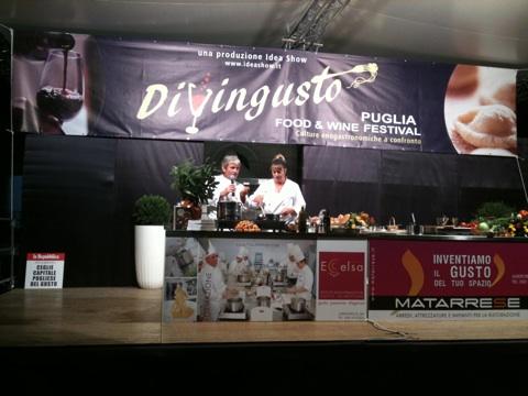 Puglia Food and Wine Festival - cooking demonstration