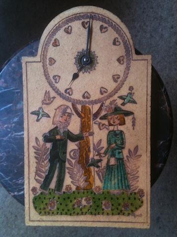 Roger Capron / Raymond Peynet clock