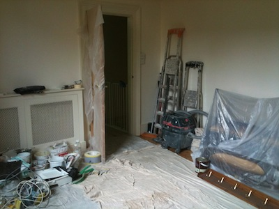 Dining room - work in progress