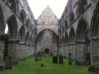 Dunkeld Cathedral - nave