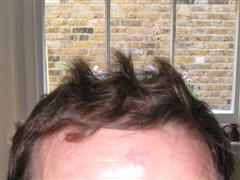 Helmet hair style