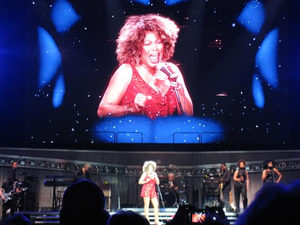 Tina at the O2