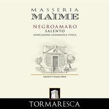 Tormaresca Masseria Maime Salento IGT, Puglia, Italy