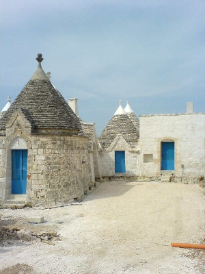 front of trulli april 2006