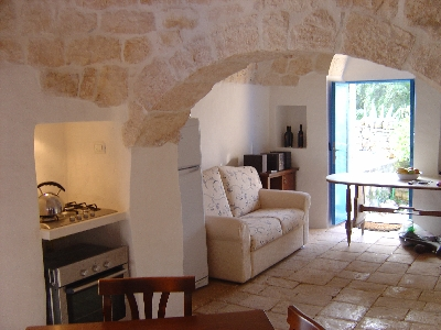 trulli living room