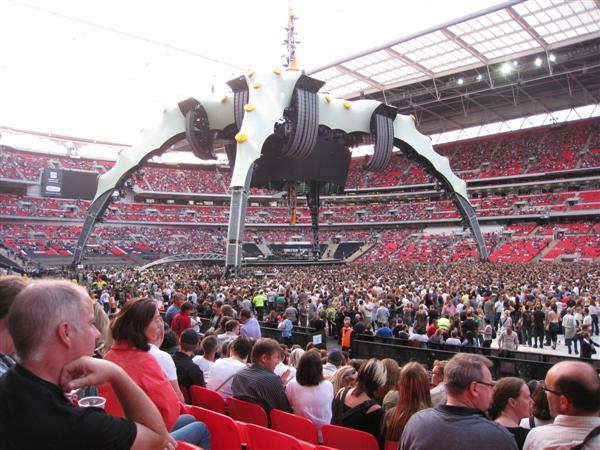 U2 at Wembley Sat 15-August-2009 1