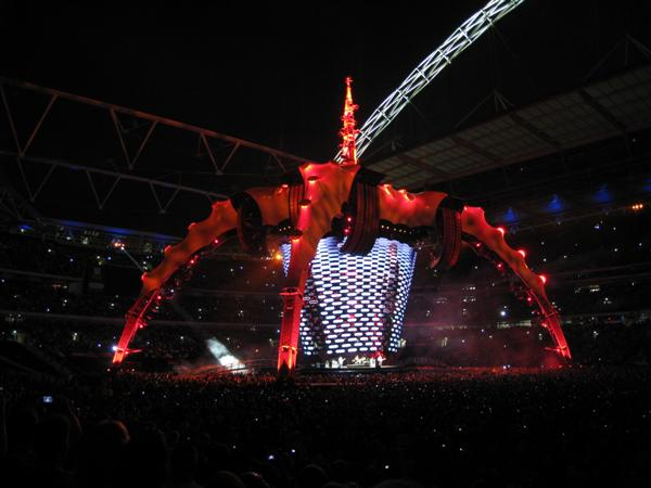 U2 at Wembley Sat 15-August-2009 3