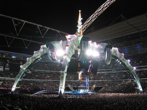 U2 at Wembley Sat 15-August-2009 6