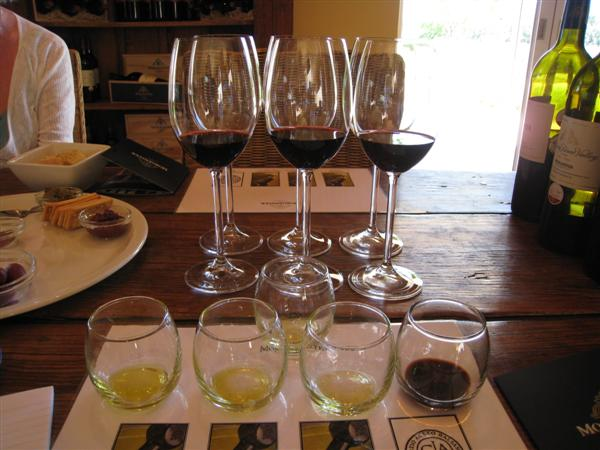 Wine tasting at Morgenster