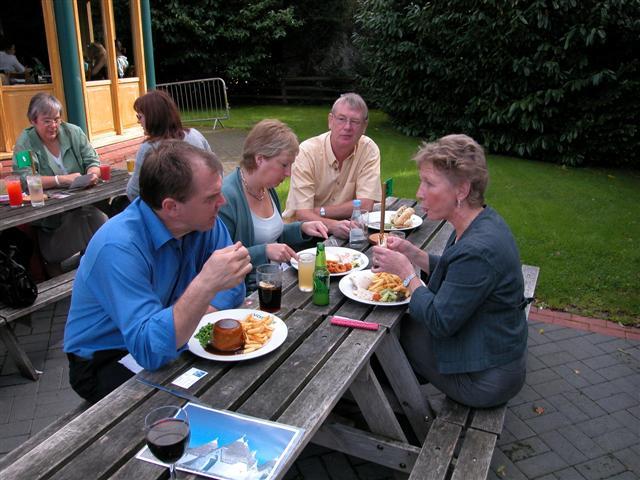 Nigel, Christine, Craig, Sue